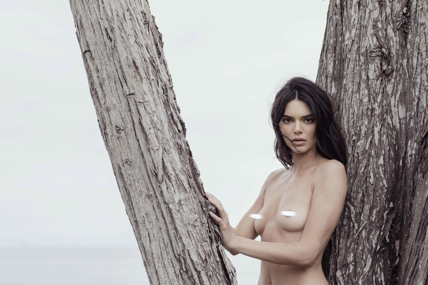 Kendall Jenner nude beach